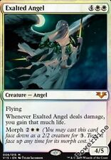 1 PreCon FOIL Exalted Angel - White FtV From the Vault Angels Mtg Magic Mythic R