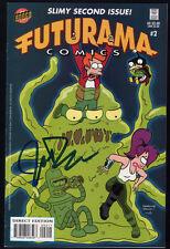 Futurama #2 FIRMATO SIGNED by John DiMaggio + certificato/COA/Simpsons! RAR