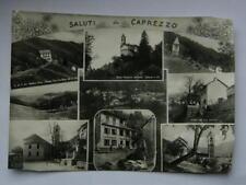 Saluti da CAPREZZO Caffè Barbini autobus Verbania vedutine vecchia cartolina