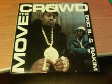 "12"" MIX CANADA ERIC B. & RAKIM MOVE THE  CROWD IS 1182 EX-/VG+ 1987  GDL"
