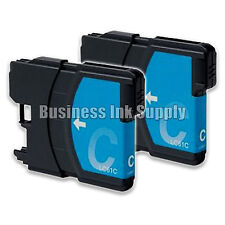 2 CYAN New LC61 Ink Cartridge for Brother Printer MFC-490CW MFC-J415W MFC-J615W