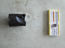 """Mitsubishi  Face Mill Button 2"""" INDEXABLE CUTTER rpmw 1204 *** Made in USA ***"""