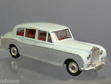 DINKY TOYS  MODEL No.198 ROLLS-ROYCE PHANTOM V   'CODE 3'