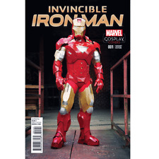 INVINCIBLE IRON MAN  #1    NM NEW (1:15 COSPLAY VARIANT)