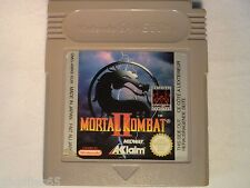 MORTAL KOMBAT II GAME BOY MORTAL KOMBAT II NINTENDO GAME BOY MORTAL KOMBAT 2