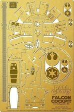 Paragrafix 1/43 DeAgostini Millennium Falcon Cockpit Photo-Etch & Decal Set 193