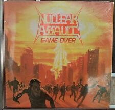 Nuclear Assault ‎– Game Over lp Us Issue NM 1986 Different Combat labels