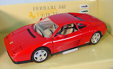 Ferrari 348  ~ Polistil ~ 1/18 Scale Die-Cast Car~ Displays Great