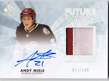 11-12 SP AUTHENTIC ANDY MIELE RC AUTO PATCH /100