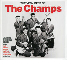 THE VERY BEST OF THE CHAMPS - 2 CD BOX SET - TEQUILA, LIMBO ROCK & MANY MORE