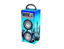 AUDIOLA 115076 TS-76 BT USB SD AX SISTEMA AUDIO MULTIMEDIALE BLUETOOTH® 2 COBALT