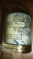 MILLER HARRIS Candle FEUILLES DE TABAC Scented Chic Gift No Box Men LTD RARE!!!!