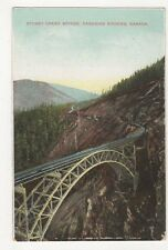 Canada, Stoney Creek Bridge, Canadian Rockies Postcard, B155