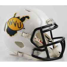 WEST VIRGINIA MOUNTAINEERS 2013 Riddell SPEED Mini Football Helmet WVU