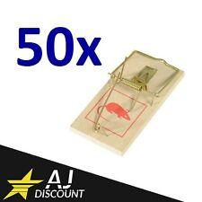 50x Tapette à souris / Anti rongeur / Piège à rat en bois / Mouse Trap