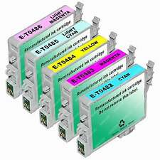5pk T048 Ink Cartridges for Epson Stylus Photo R200 R220 R300 R300m R320 Printer