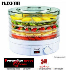 Hottop Round Adjustable Food Dehydrator with Removable Trays and Fan