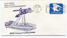1973 NASA Vanguard Tracking Station Thiele Cape Canaveral Moon Walk Space USA