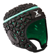 Clearance Line New Gilbert Rugby Virtuo Headguard Black / Green X-Large