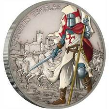 2017 Warriors of History – Knights Templar 1oz Silver Coin