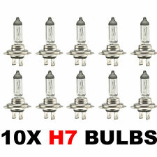 10 x Brand New H7 499 HEADLAMP HEADLIGHT CAR BULBS 12v 55w (2 PIN) 477