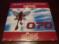 SUNFLY HITS KARAOKE  DISC SF070 VOLUME 70 CD+G SEALED 15 TRACKS