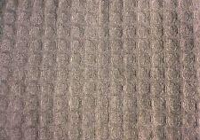 Threshold Gray Waffle Weave Shower Curtain