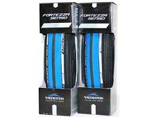 Vredestein Fortezza Senso all weather blue clincher 700 x 23 tires PAIR 2X