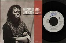 """MICHAEL JACKSON I Just Can'T Stop Loving You  7"""" Ps, Dutch Issue With Spoken Int"""