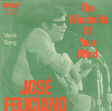 JOSE FELICIANO - The Windmills of Your Mind (1969 VINYL SINGLE DUTCH PS)