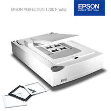 EPSON 1200 U Photo Scanner per foto/diapositive/negativi piccoli immagine/medio formato/4x5""