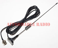 800 MHz scanner antenna mini magnet mount BNC for Motorola mobile radio 11""