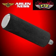 Arlen Ness Chrome Fusion Knurled Shift Peg for Harley Touring Softail 07-926