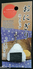 STRAP - ONIGIRI /JAPAN / ONIGIRI-Strap / Japanese Fake Food / SUSHI /MOLDED FOOD