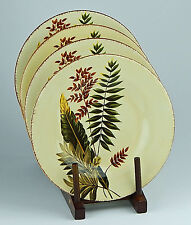 Set of Two Salad Plates, MINT! Greenwich, Tabletops Unlimited, Green Leaves