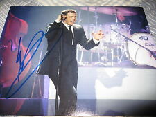 MICHAEL BUBLE SIGNED AUTOGRAPH 8x10 SEXY SINGER PROMO CRAZY LOVE PERFORMING NY E
