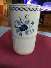 "Hand painted Tumbler Cup  Or Vase From Adams "" Baltic"" Mint!"