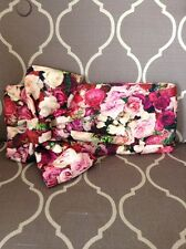 NWT Kate Spade Evening Belles Floral Gini Bow Clutch
