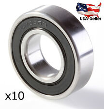 6004 2RS 6004 RS PREMIUM BEARINGS SNOWMOBILE BEARINGS 10 Bearings