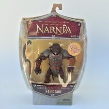 Chronicles Narnia Minotaur Action Figure Disney Store Lion Witch Wardrobe Rare