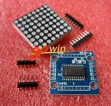 2pcs MAX7219 MAX7219EWG Dot matrix module MCU control Display module DIY kits