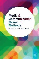 Media and Communication Research Methods : An Introduction by Anders Hansen,...
