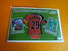 29 MARCHAL FC LORIENT MOUSTOIR MERLUS FOOTBALL JUST FOOT MAGNETS 2008 PANINI