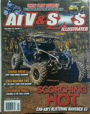 ATV & SXS Illustrated Vol 13 Issue 11 Scorching Hot Trails FREE SHIPPING sb