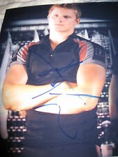 ALEXANDER LUDWIG SIGNED AUTOGRAPH 8x10 PHOTO HUNGER GAMES IN PERSON COA NY C