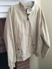 Brooks Brothers Light Tan Beige Corduroy Casual Coat Jacket XL