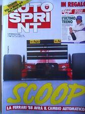 Autosprint n°41 1987 Rivoluzione Ferrari 1988 [P5]