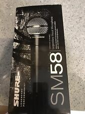 Shure SM58S Dynamic Cable Professional Microphone Brand New