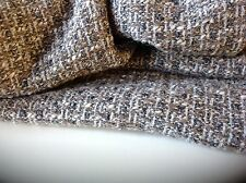 "NEW Multi Colour Wool Boucle Fabric 62""158"" Top Designer Winter Catwalk Image DG"
