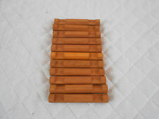 "11 Pieces Lincoln Logs 2 Notch 4 1/2"" Honey Color"